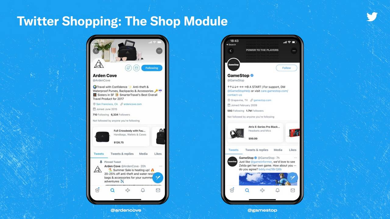 Twitter tests new 'Shop Module' feature to help users buy products from the app - Technology News, Firstpost