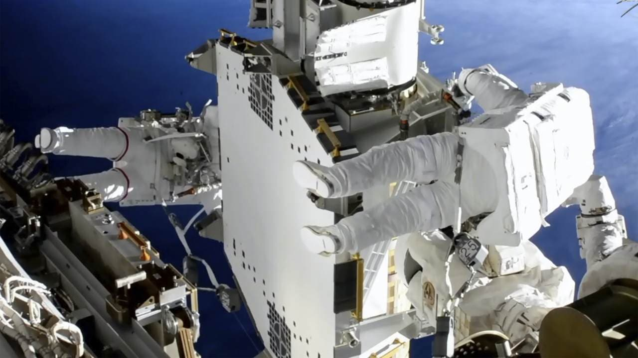 What does an astronaut need to do in a space walk?  - Technology News, Firstpost