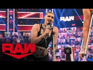"""Rhea Ripley Appears """"Injured"""" During Charlotte Flair's Medical UpdateRaw: July 5, 2021"""
