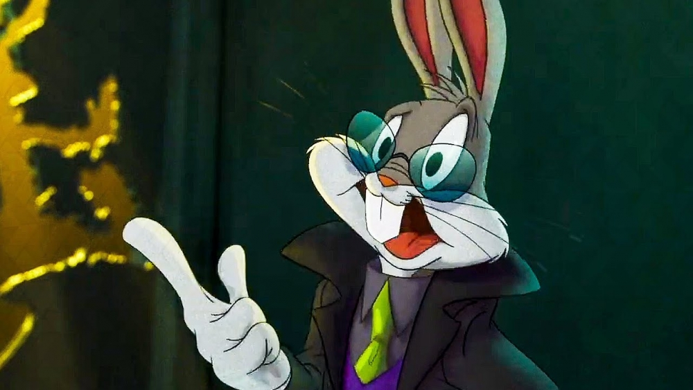 LeBron James and Bugs Bunny arrive at the Matrix in the new Space Jam: A New Legacy clip