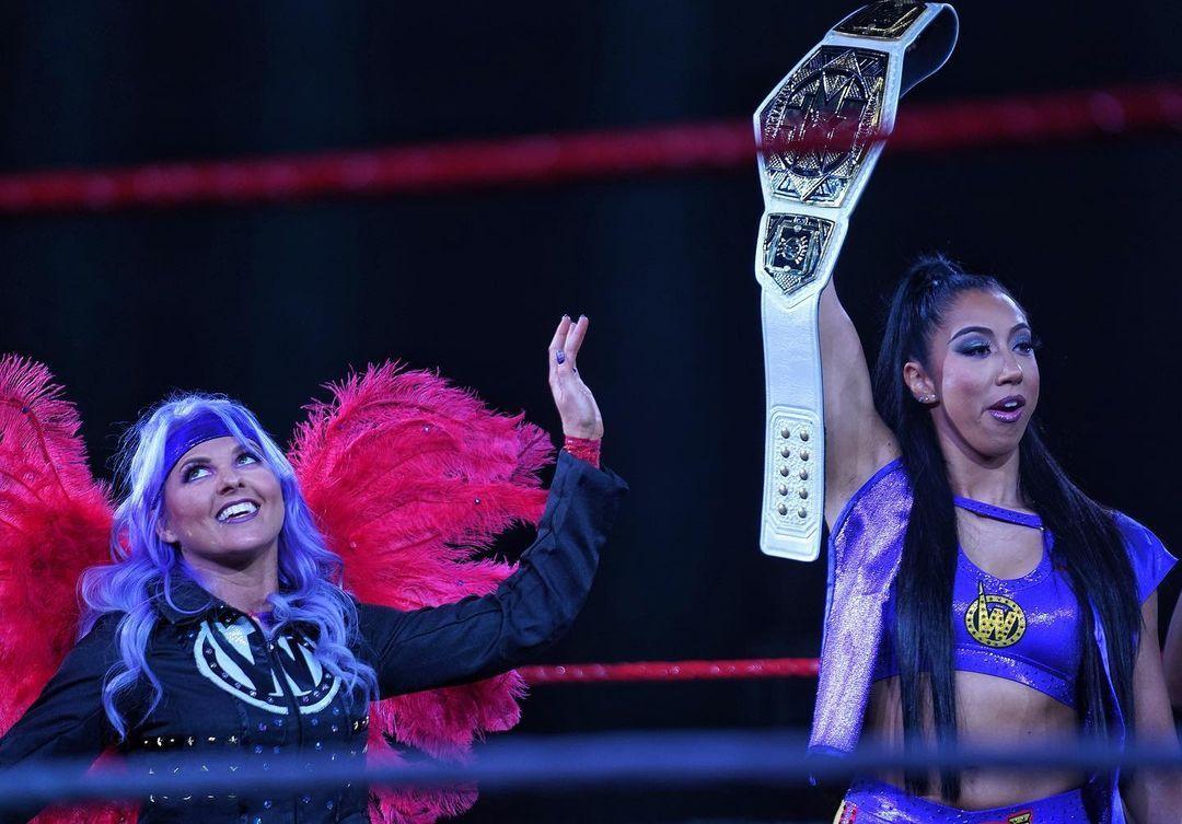WWE Women 🌞, � Candice LeRae and Indi Hartwell �