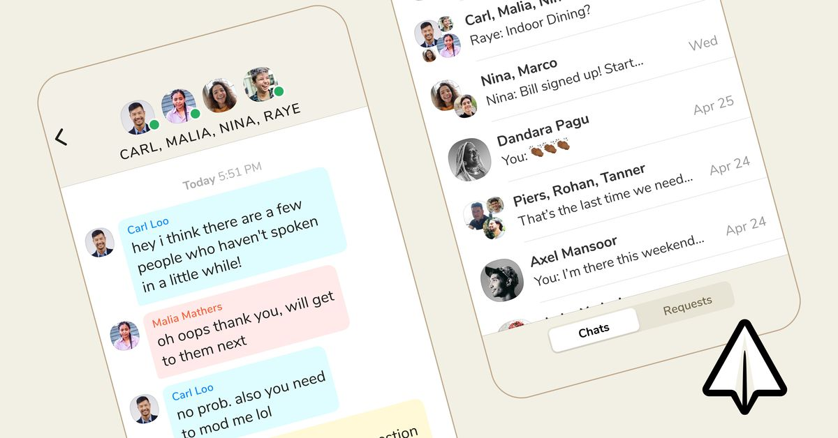 The clubhouse launches its DM feature Backchannel