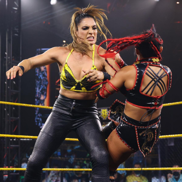 Raquel Gonzalez vs. Xia Li - NXT Women's Title MatchWWE NXT: July 20, 2021 - Digitals
