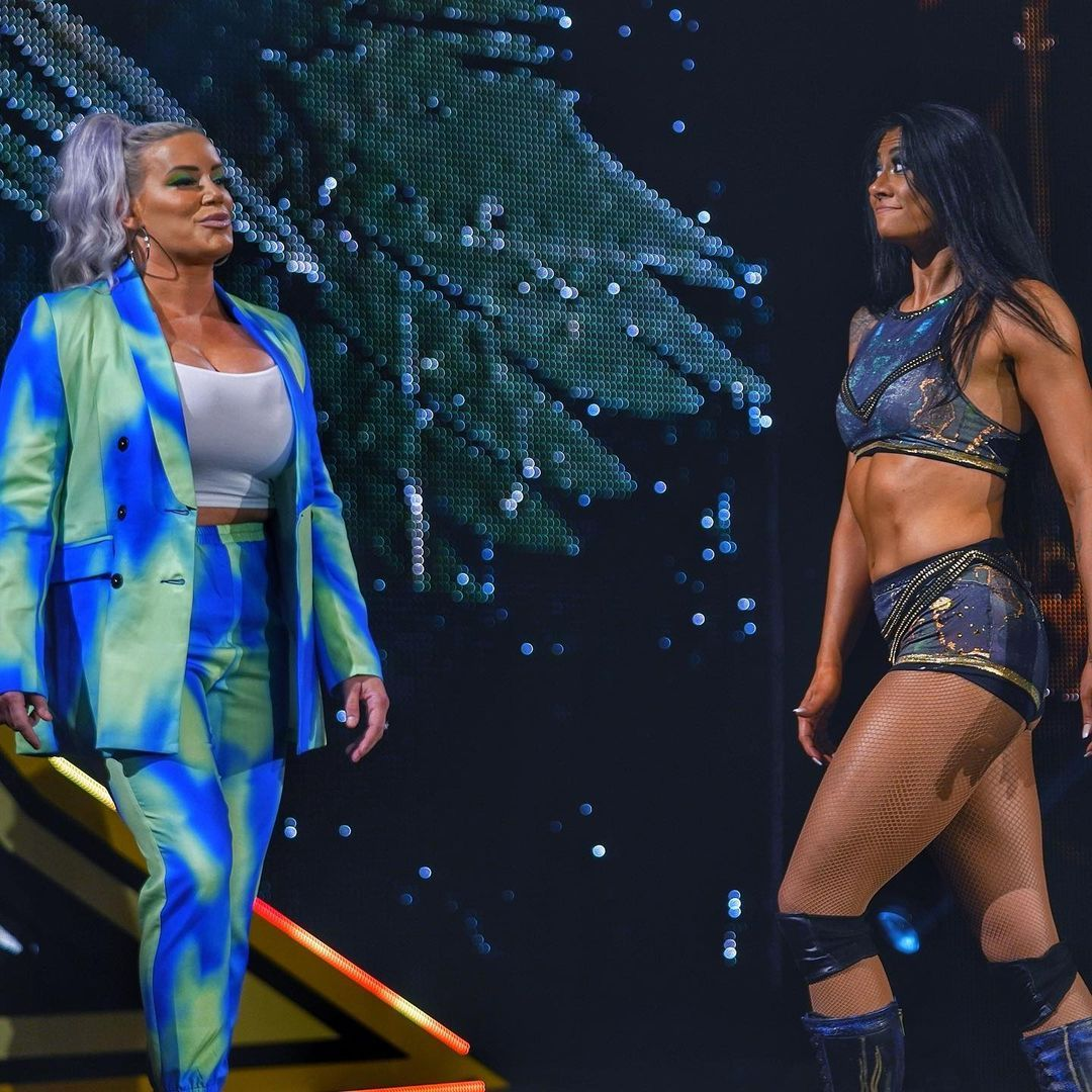 WWE Women 🌞, ⭐ Franky Monet and Jessi Kamea ⭐