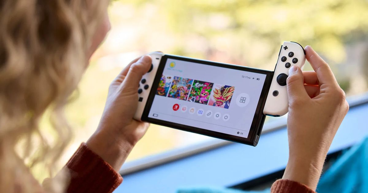 Nintendo OLED Switch: All the news about the console update