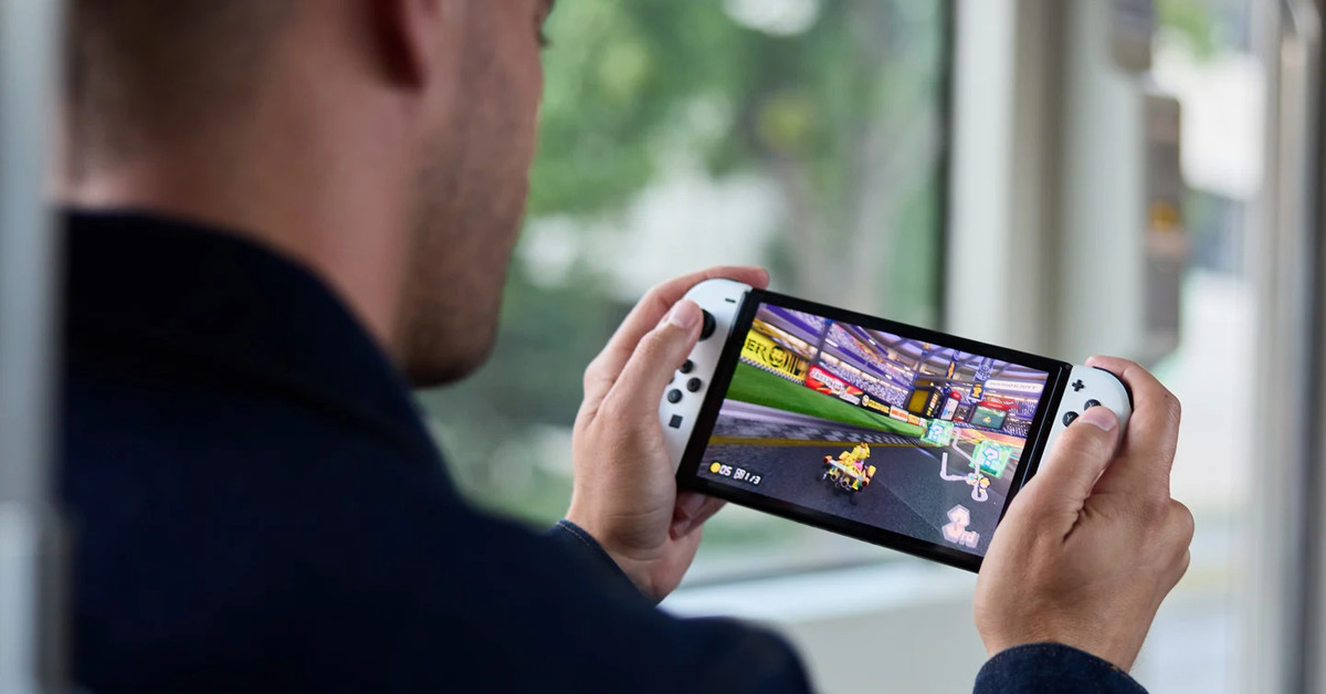 Nintendo does not confirm that the OLED switch does not have a new processor or increased RAM