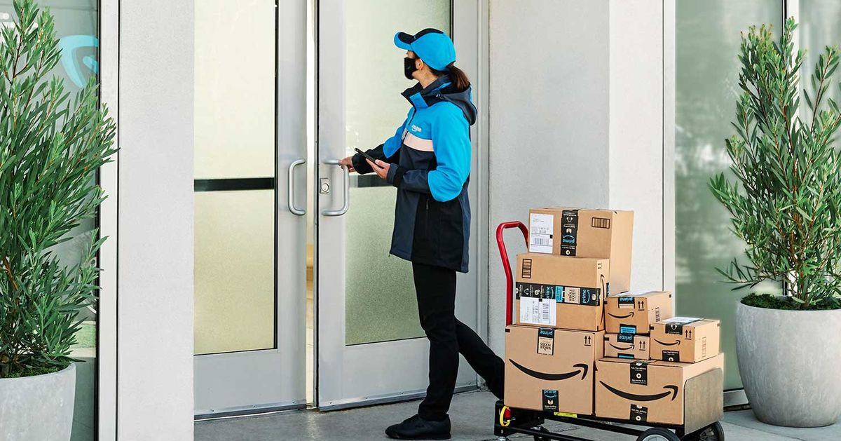 Amazon is known to be the 'key' to thousands of apartment buildings in the United States