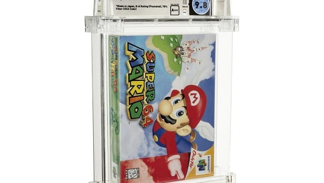 Unopened copy of Nintendo Super Mario 64 sells for $ 1.56 million at Dallas auction - Technology News, Firstpost