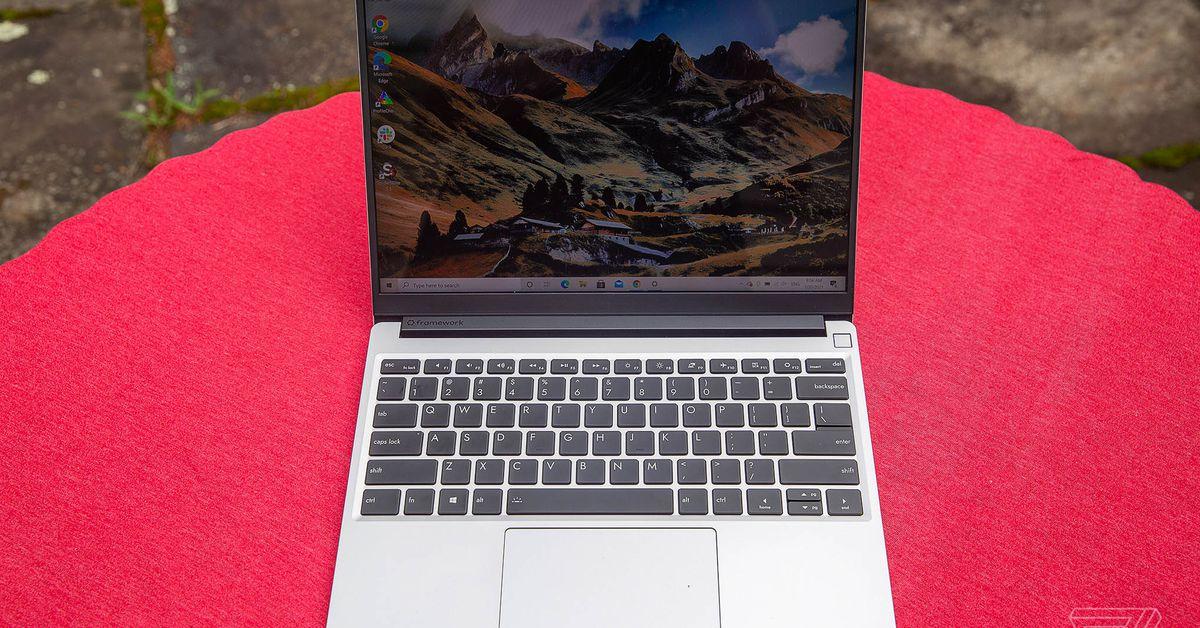 Framework Laptop Scan: Select your port