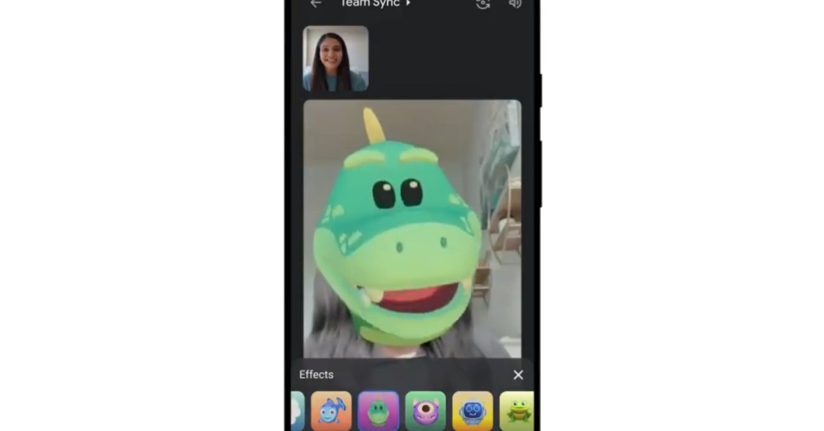 Google Meet adds Duo-style filters, AR masks, and effects