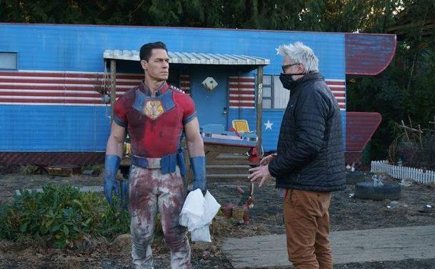 First we look at James Gunn's Peacemaker series, starring John Cena