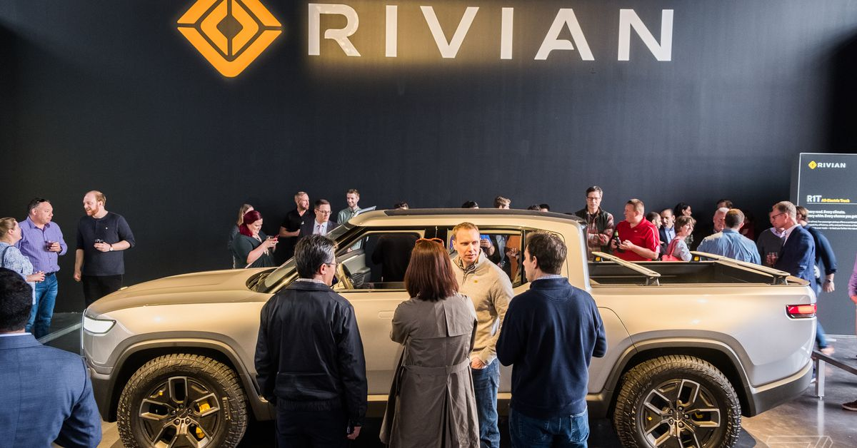 Rivian will delay the first email deliveries until September