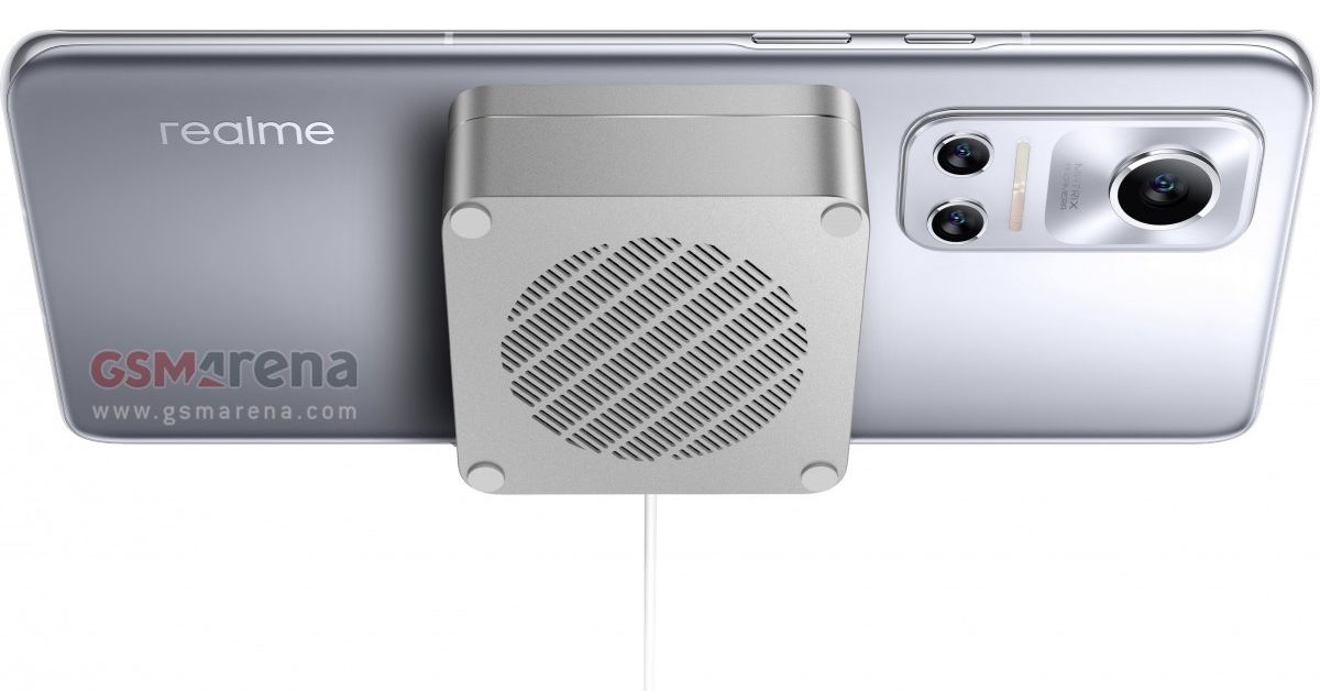 Realme is the first to bring magnetic wireless charging to Android