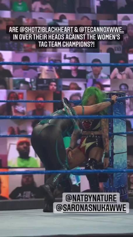 WWE Women 🌞, ⭐ Tamina and Shotzi Blackheart ⭐
