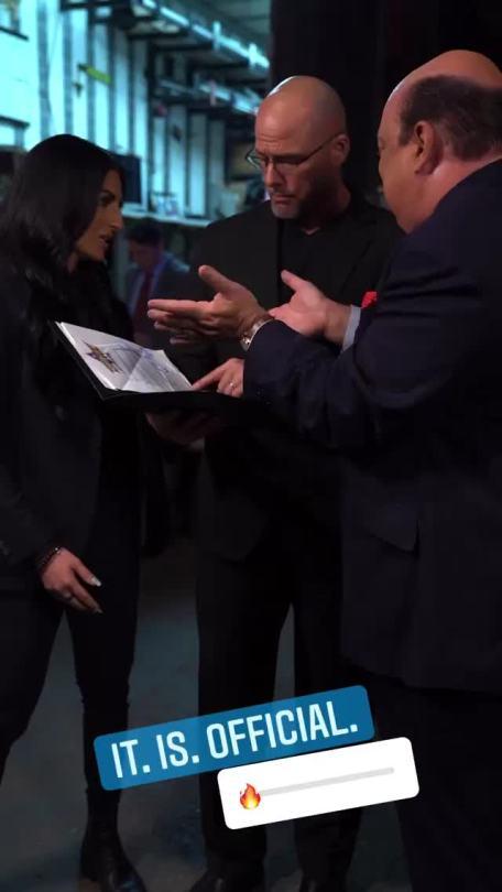 WWE Women 🌞, � Sonya Deville, Adam Pearce, Paul Heyman �