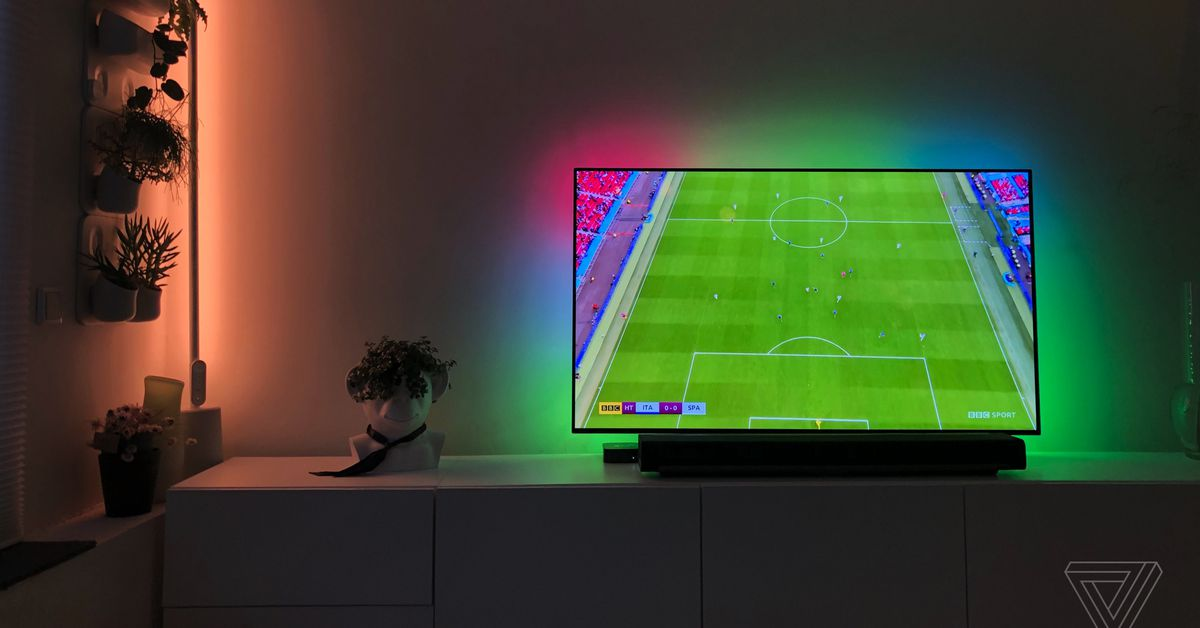 Govee Immersion TV backlight check: Ambilight less