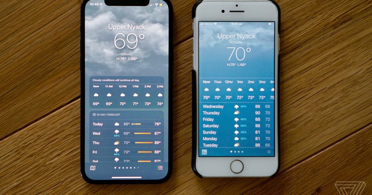 The Apple Weather app refuses to display the most comfortable temperature