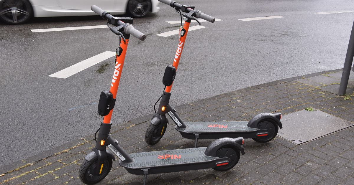 Spin scooters come to Google Maps