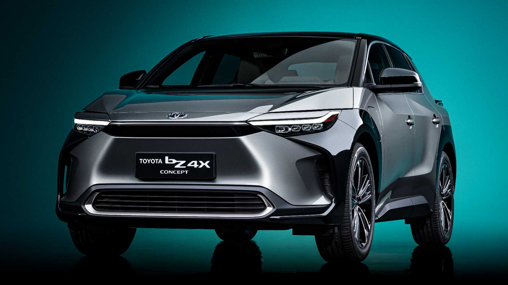 Toyota's first global BEV, the bZ4x SUV, will not be completed until 2022. Photo: Toyota