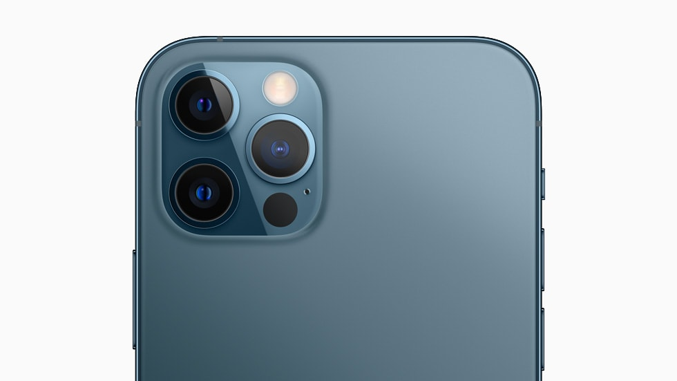 The Apple iPhone 12 Pro is displayed for presentation purposes only.  Photo: Apple