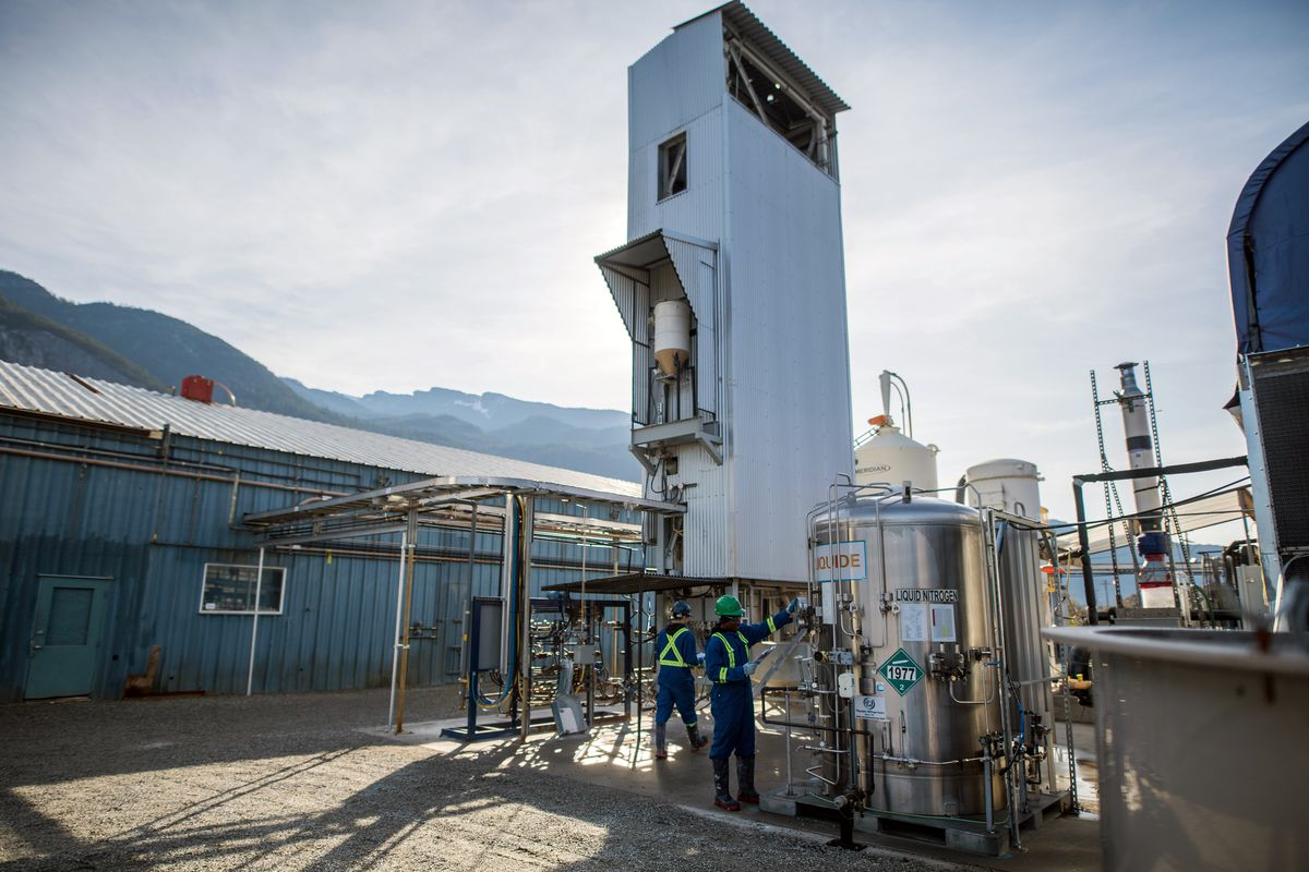 Measures at the pilot plant for direct capture of CO2 by carbon dioxide technology