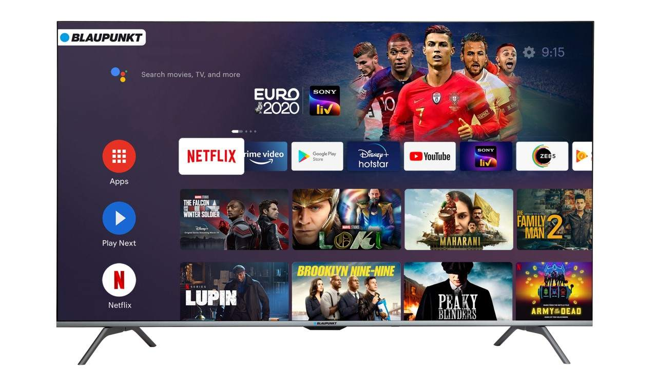 Blaupunkt is launching a 50-inch Android Smart TV in India for 36,999 rubles- Technology News, Firstpost