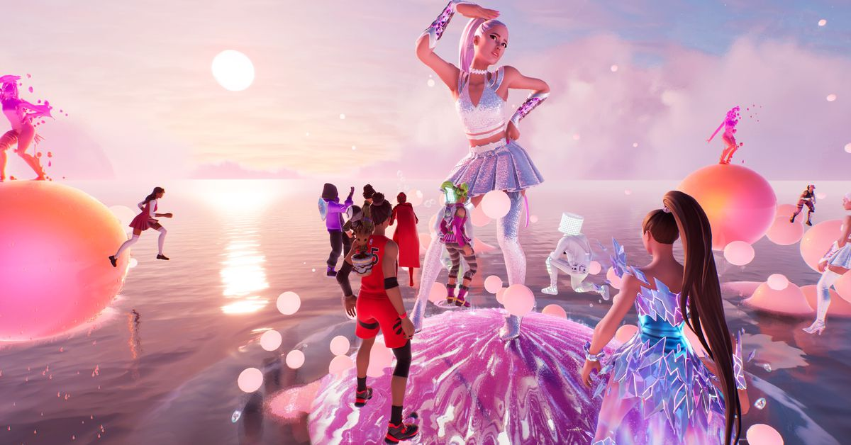 Ariana Grande's Fortnite tour was going on for a while for years