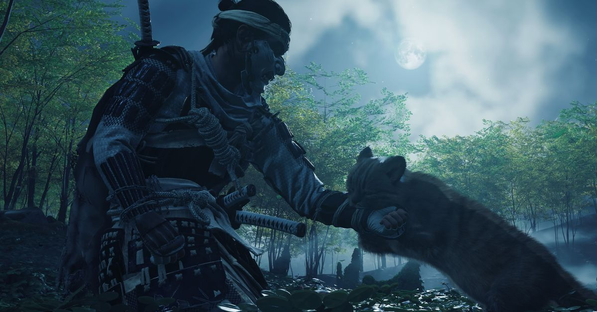 Ghost of Tsushima's growling cats may be my favorite PS5 feature
