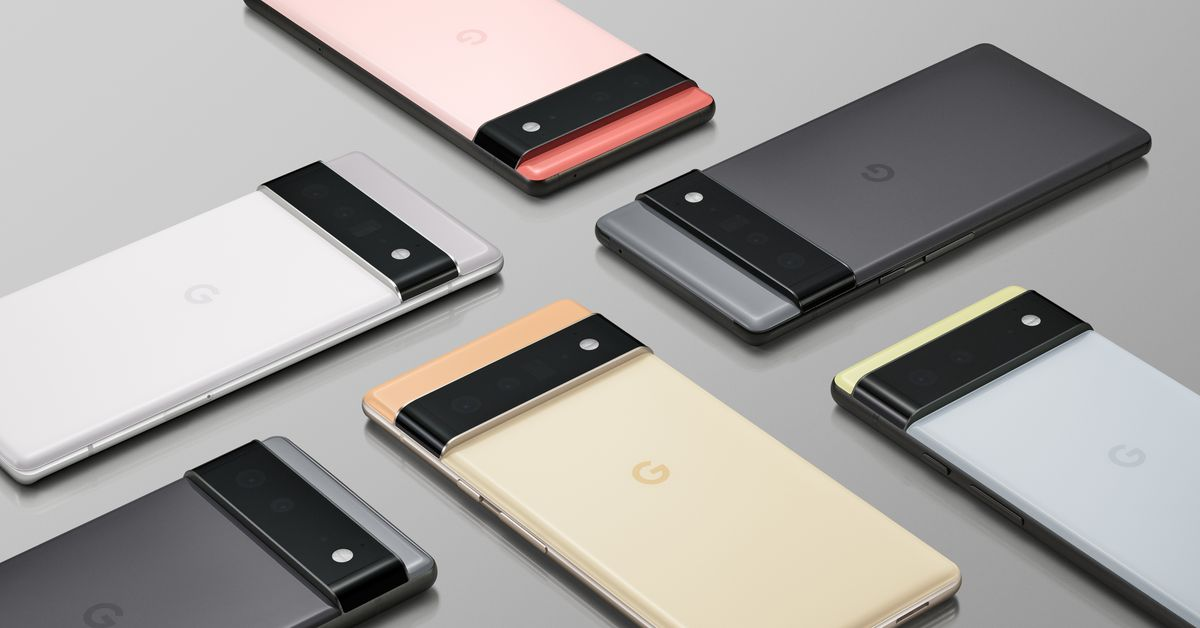 Google Pixel 6 and 6 Pro phones announced with custom Tensor chips