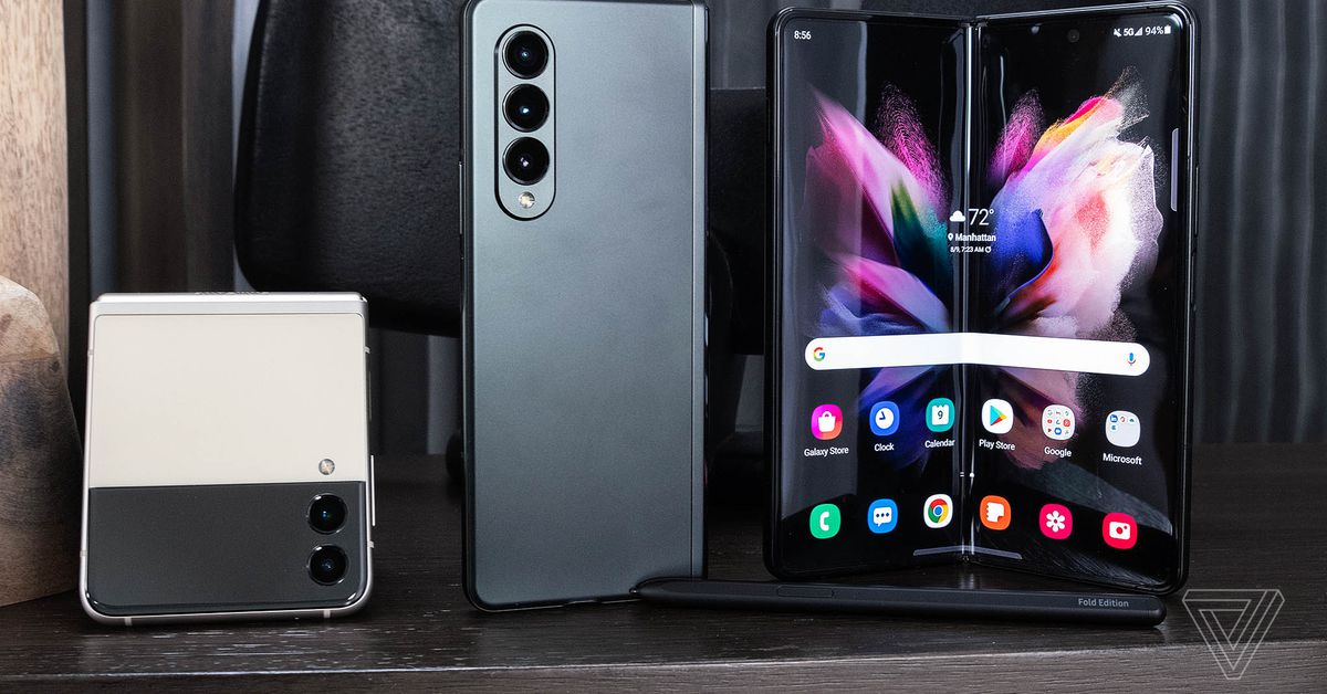 The Samsung Galaxy Z Fold 3 was unveiled with S Pen support and water resistance