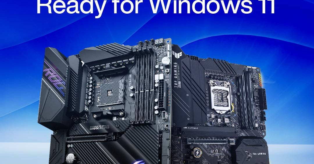 Asus releases Windows 11-compatible BIOS updates with automatic TPM support